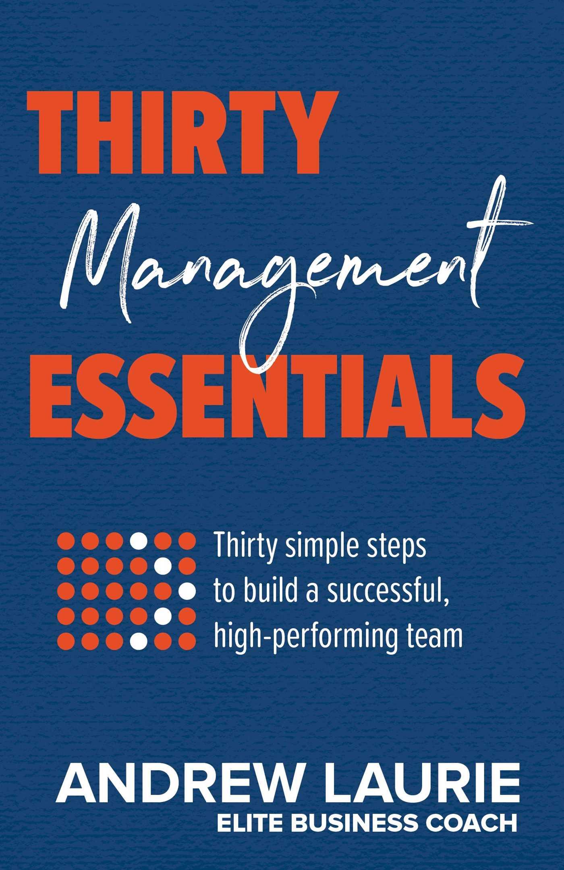 Thirty essentials management 9781925384505 hr