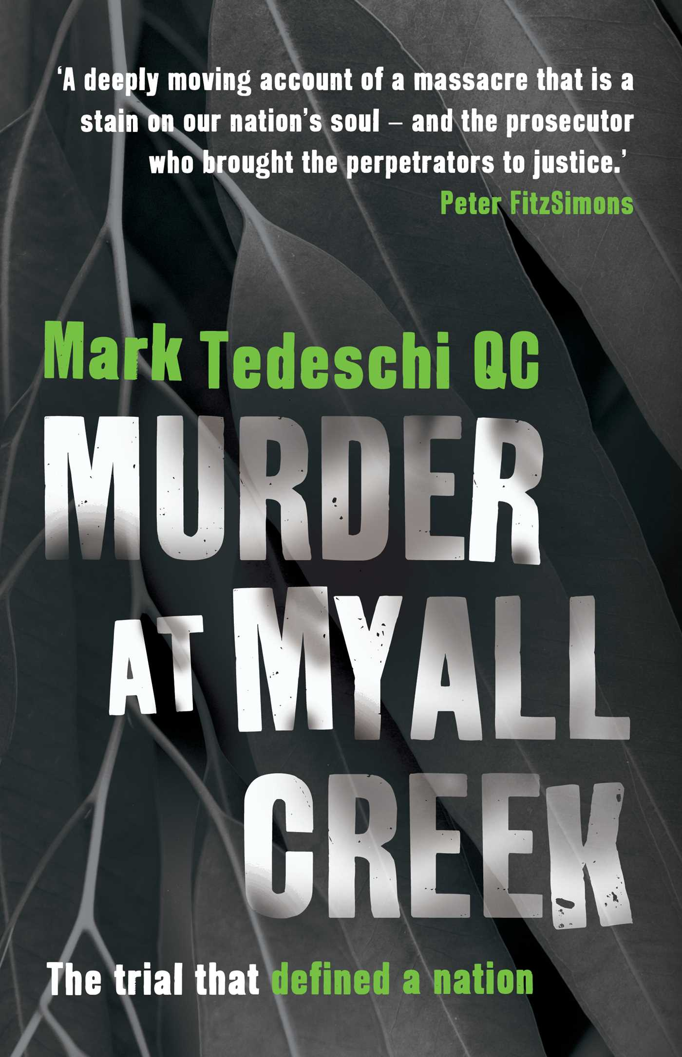 Murder at myall creek 9781925456264 hr