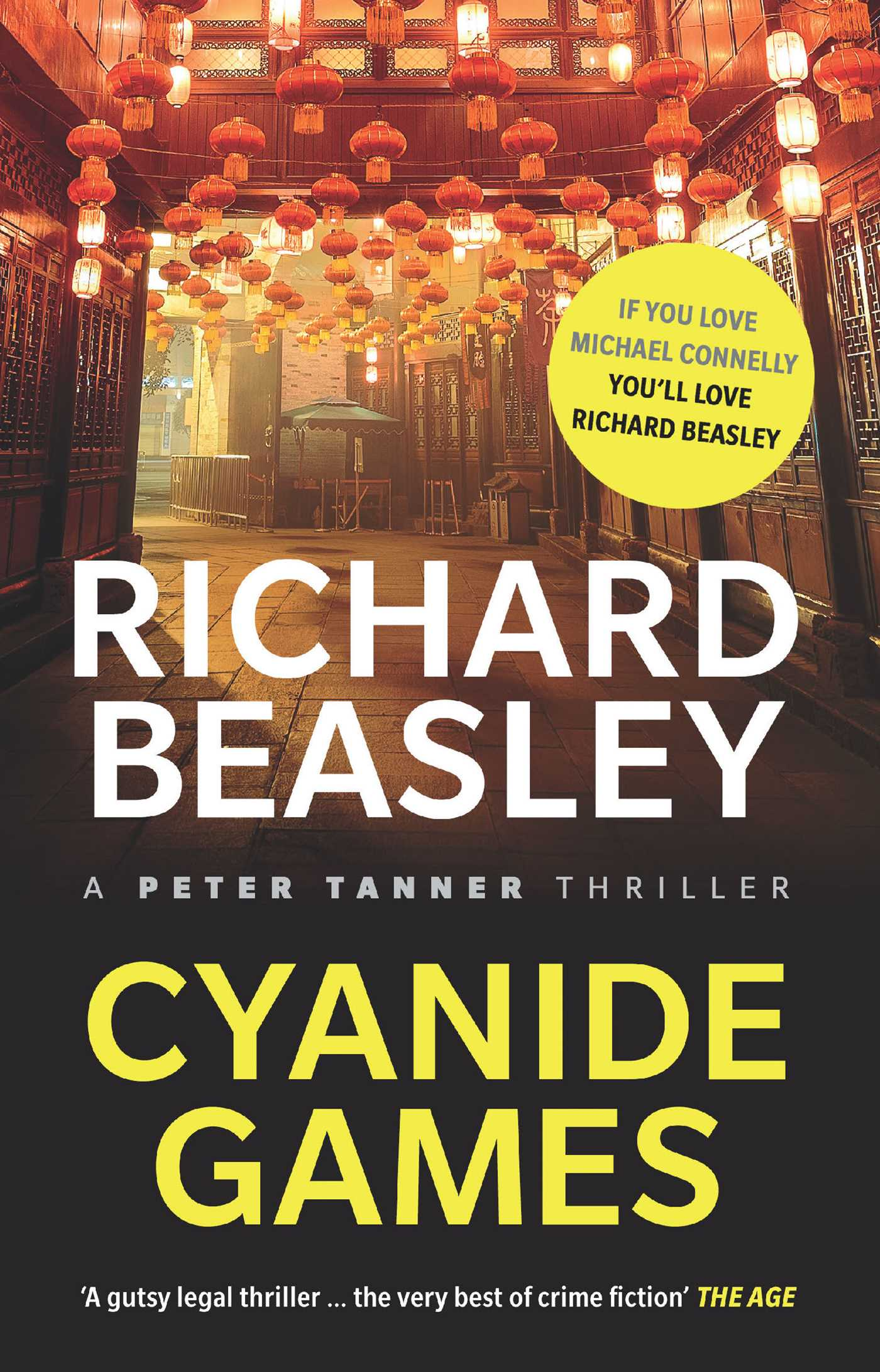 Cyanide games a peter tanner thriller 9781925533491 hr