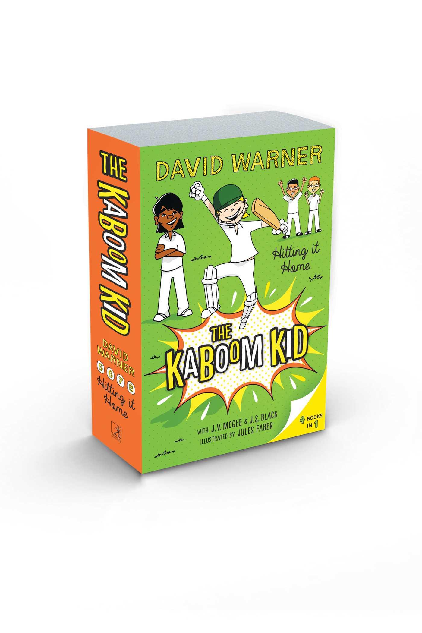 Hitting it home the kaboom kid books 5 8 9781925596502 hr