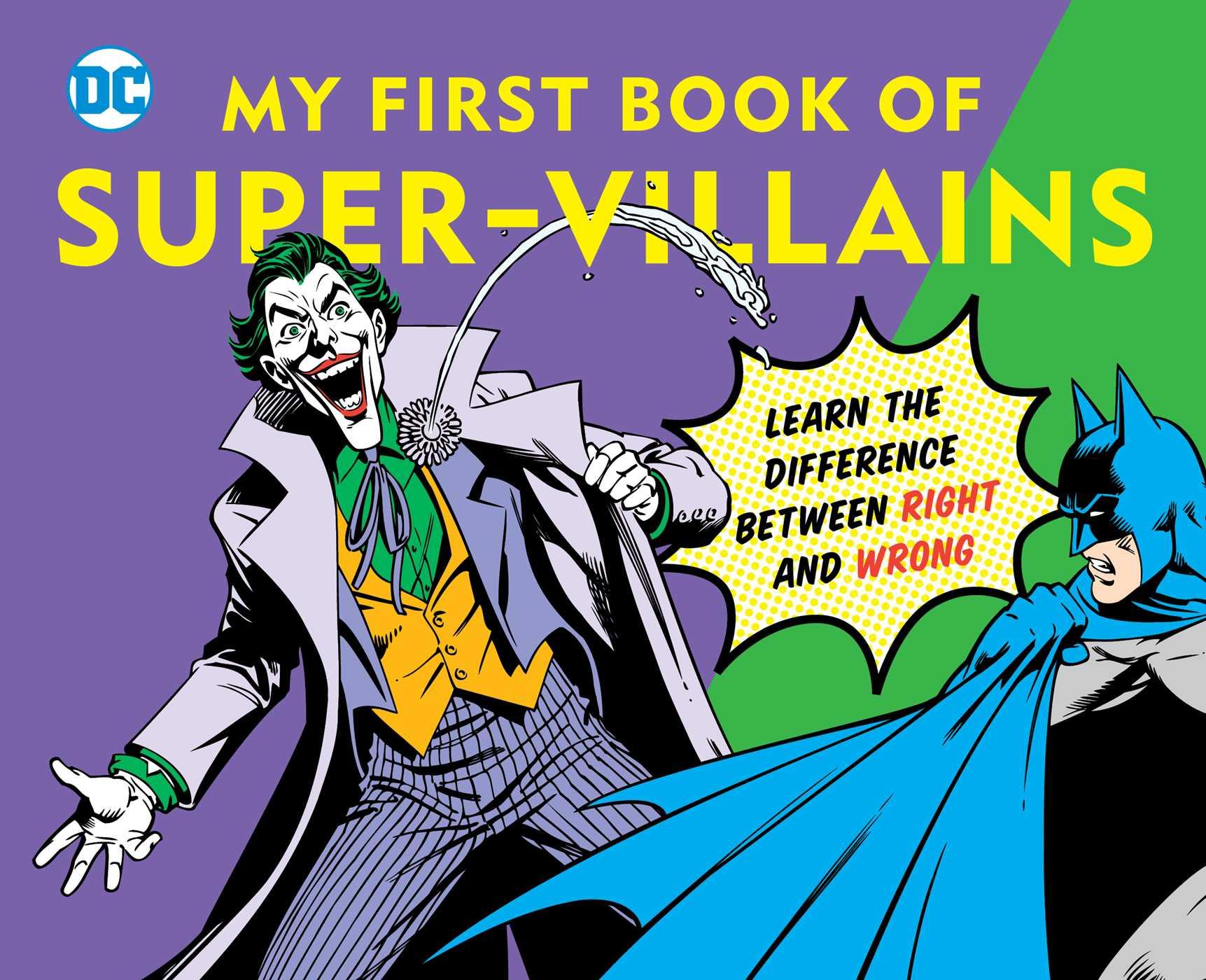 Dc super heroes my first book of super villains 9781935703181 hr