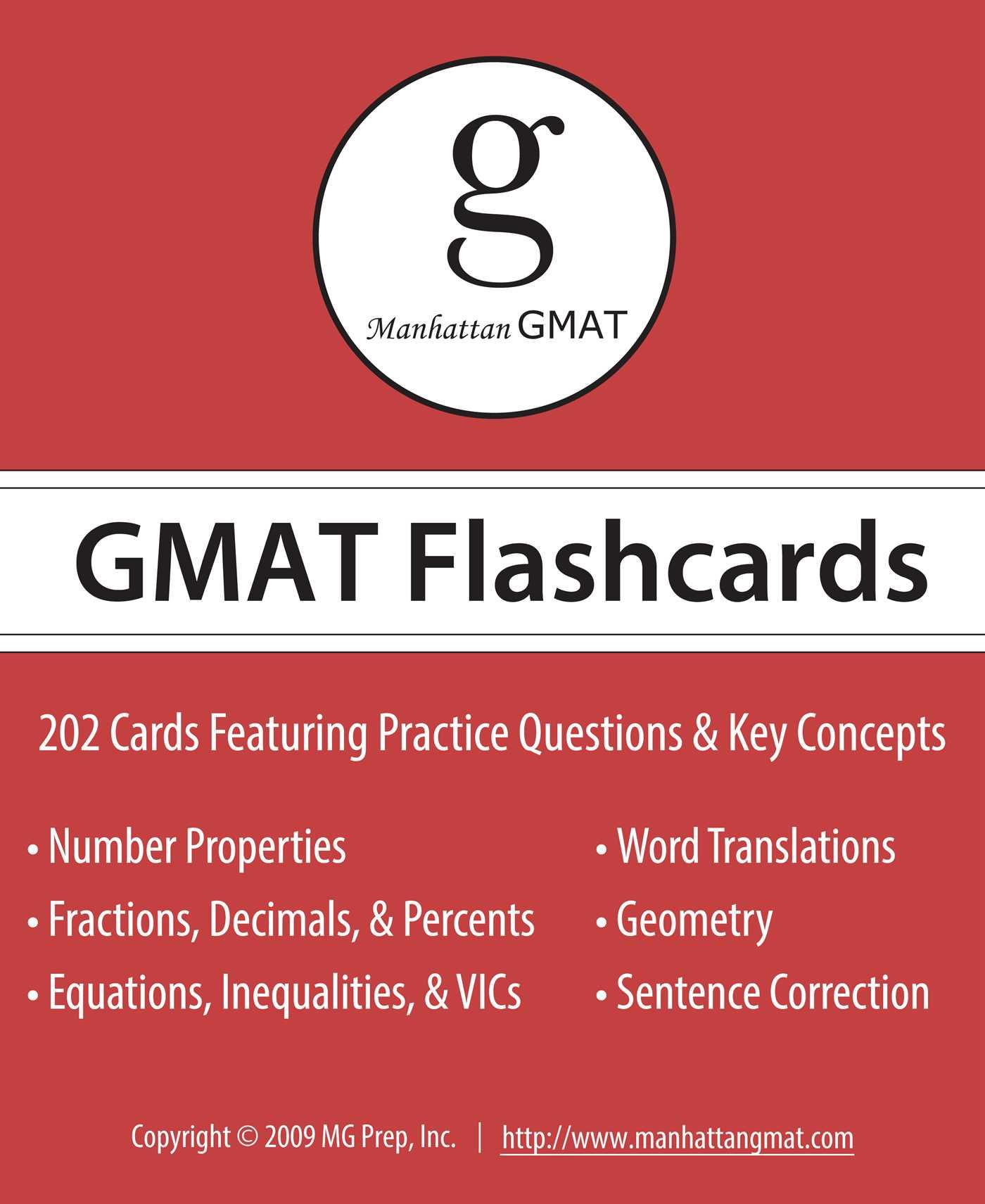 Gmat flashcard