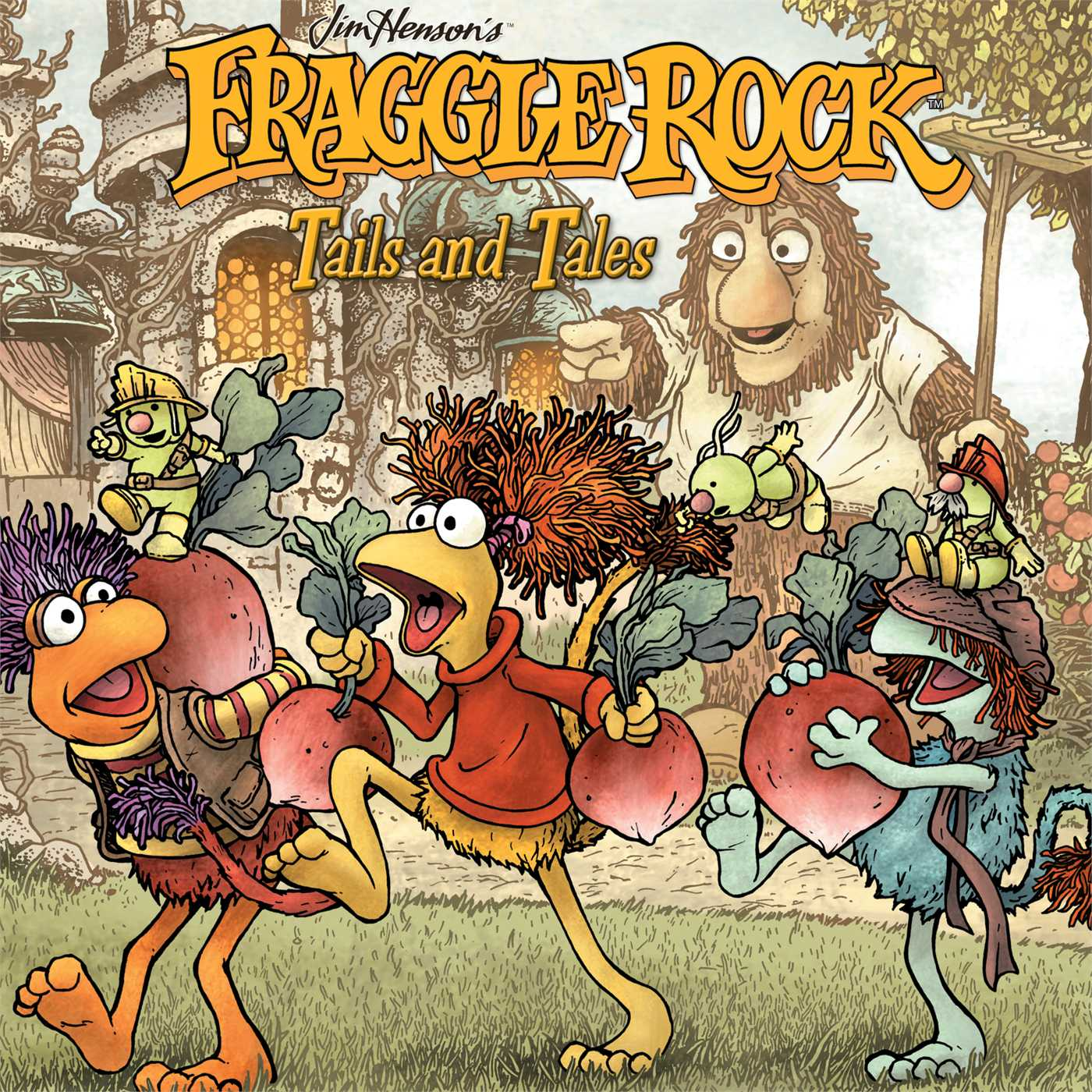 Fraggle rock volume 2 tails and tales hc 9781936393138 hr