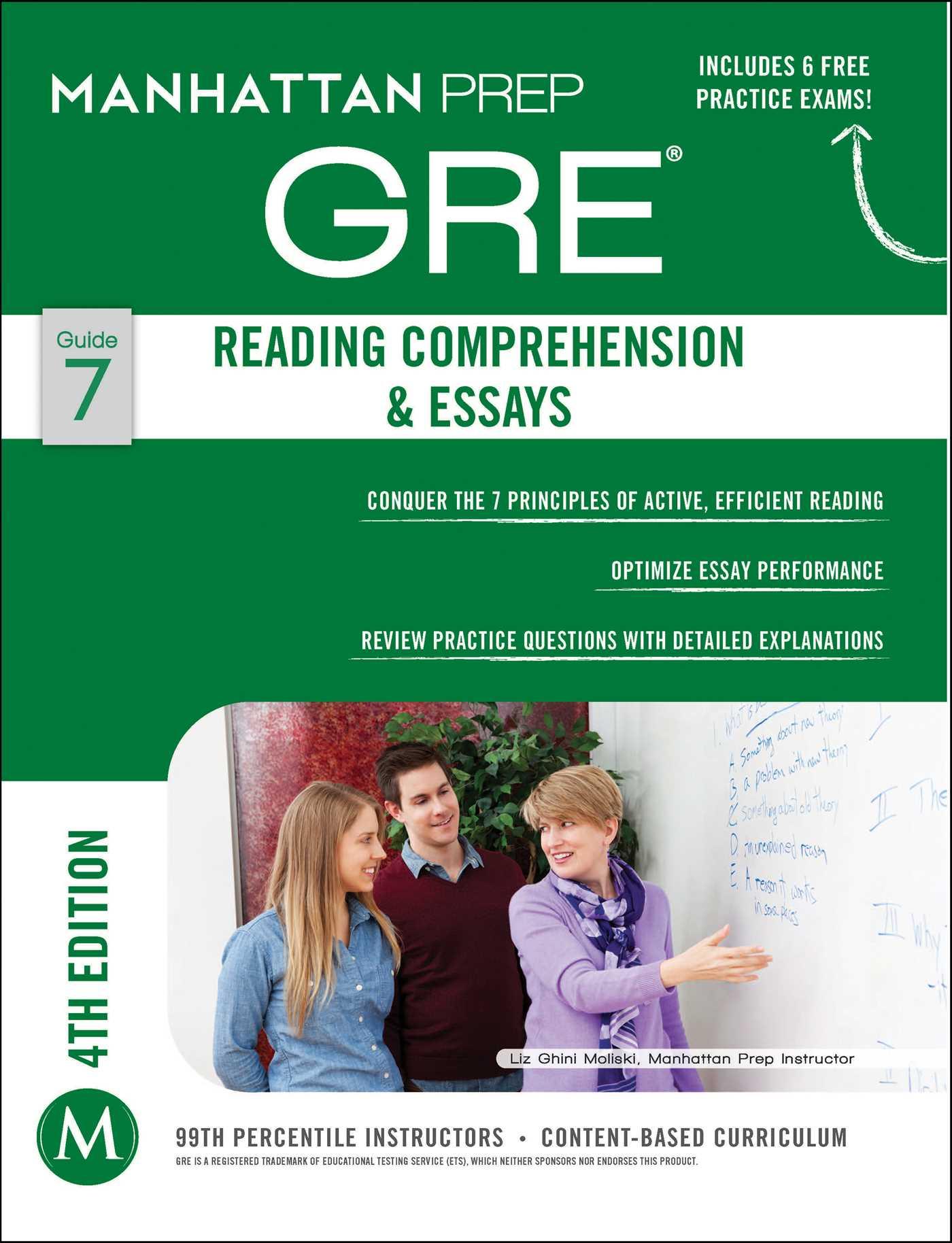 Gre essay book