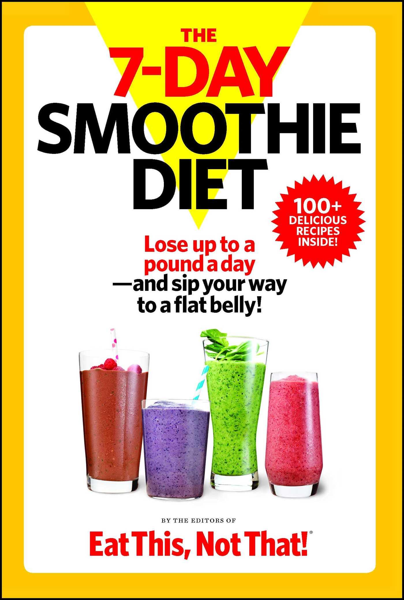 The 7 day smoothie diet 9781940358208 hr