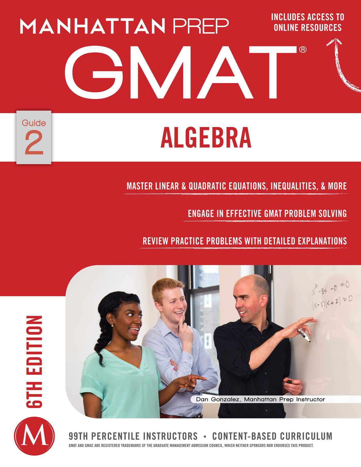 Book Cover Image (jpg): GMAT Algebra Strategy Guide