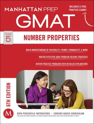 GMAT Number Properties   Book by Manhattan Prep   Official Publisher