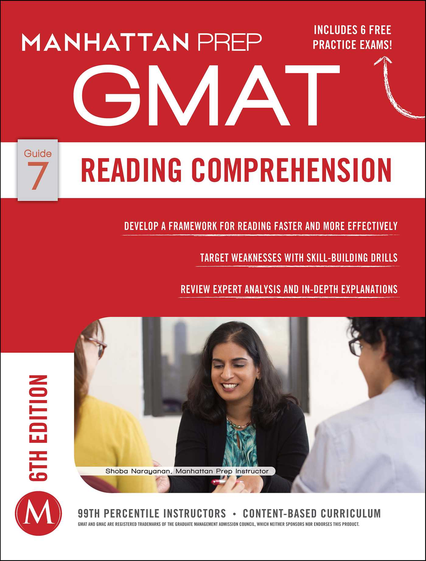 GMAT Reading Comprehension   Book by Manhattan Prep