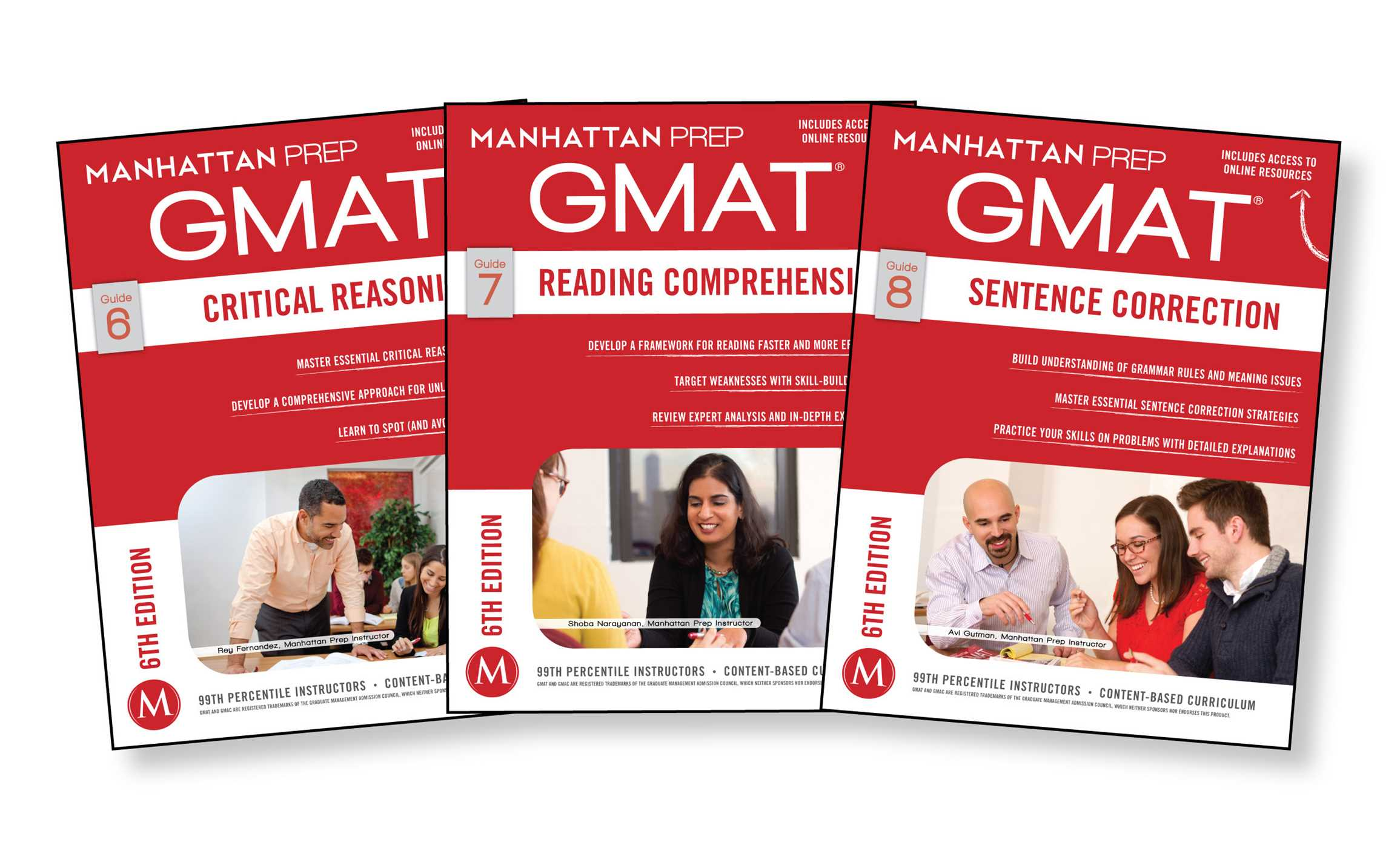 Book Cover Image (jpg): GMAT Verbal Strategy Guide Set