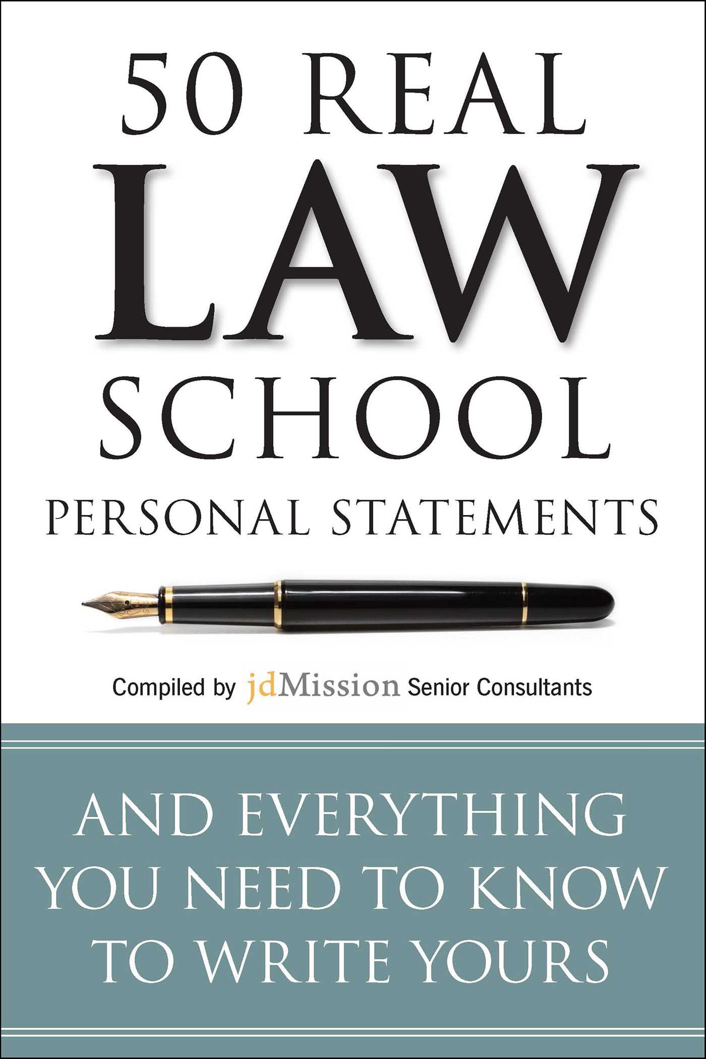 Law school personal statement
