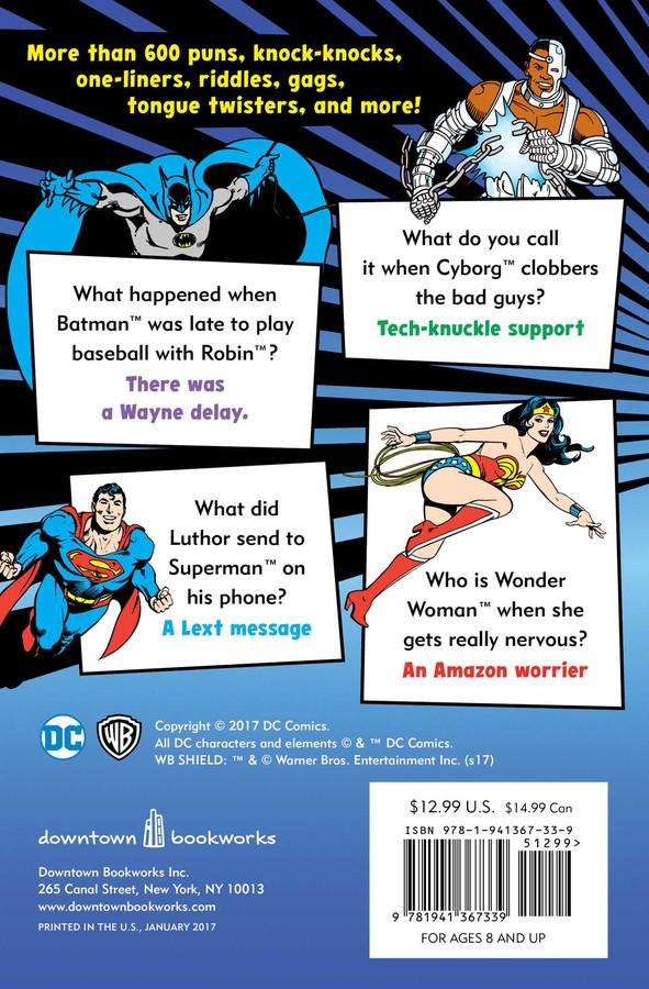 The Official DC Super Hero Joke Book | Book by Michael Robin, Sarah