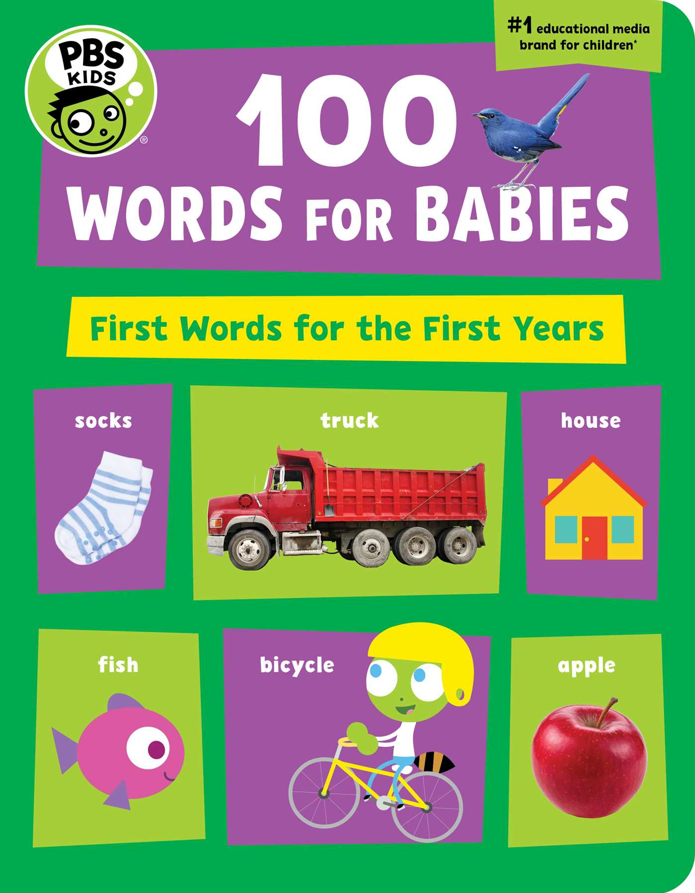 pbs kids 100 words for babies book by the early childhood experts
