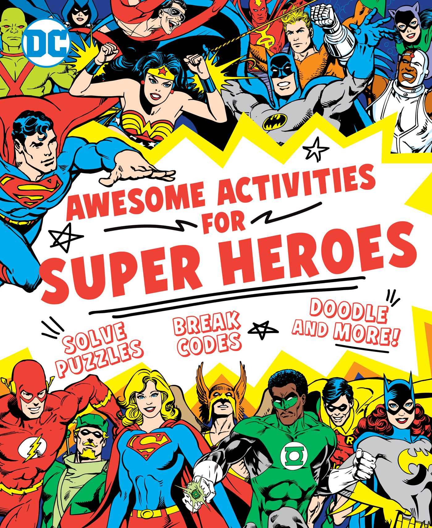Awesome activities for super heroes 9781941367407 hr