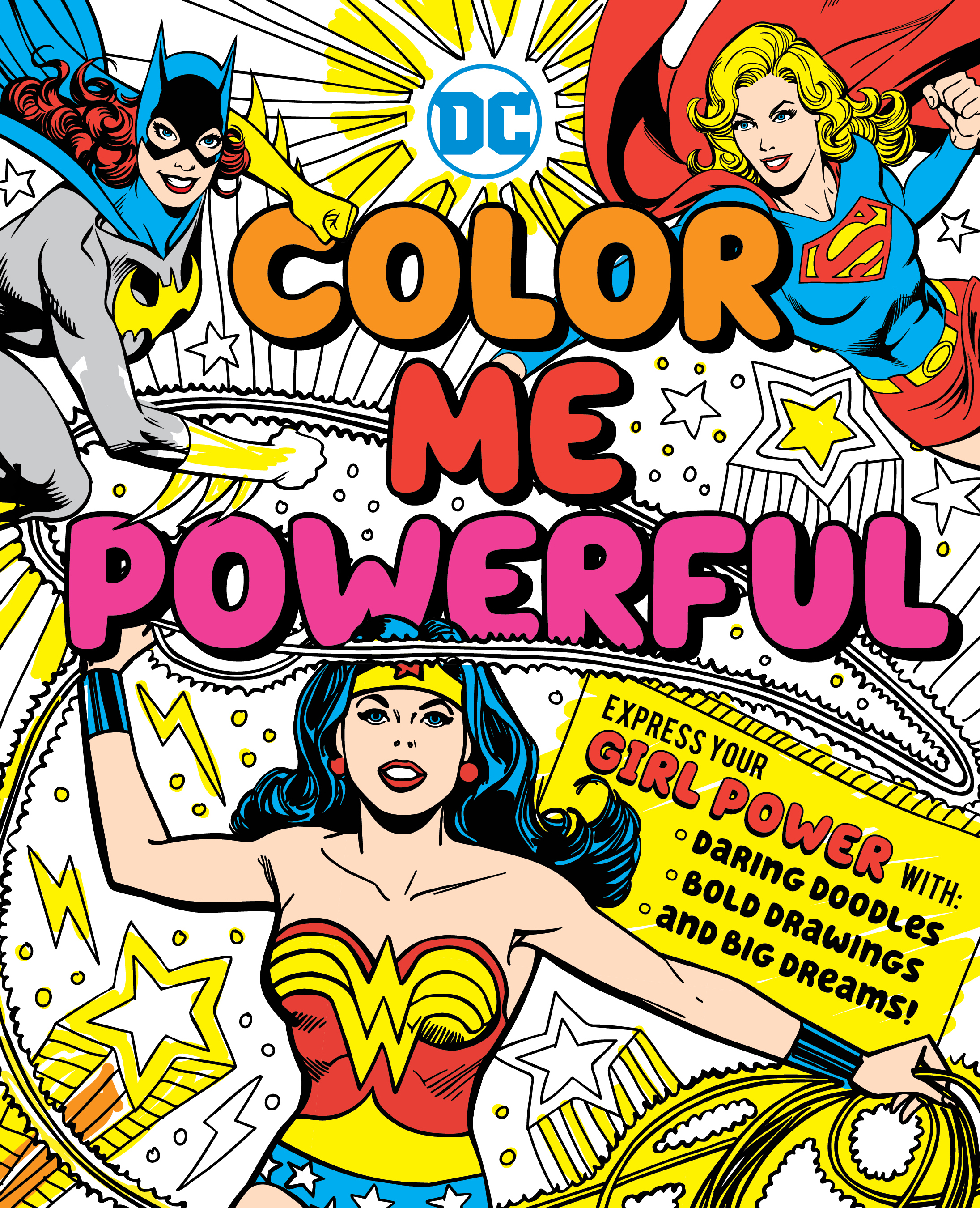 Dc super heroes color me powerful 9781941367506 hr