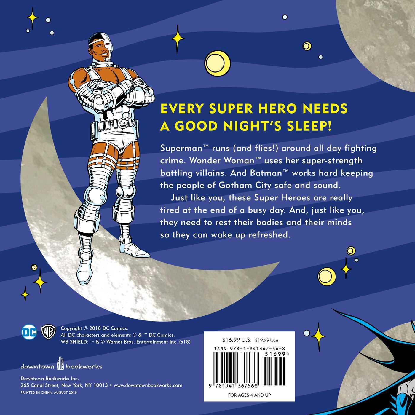 The big book of super hero bedtime stories 9781941367568 hr back