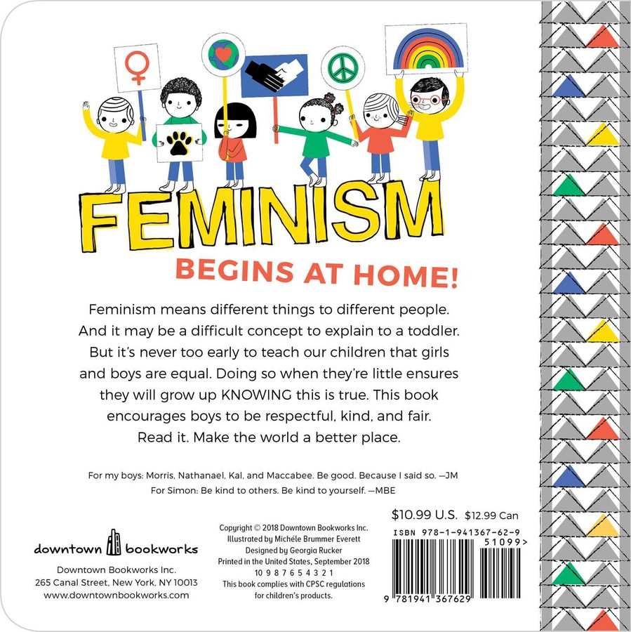 My First Book of Feminism (for Boys) | Book by Julie Merberg