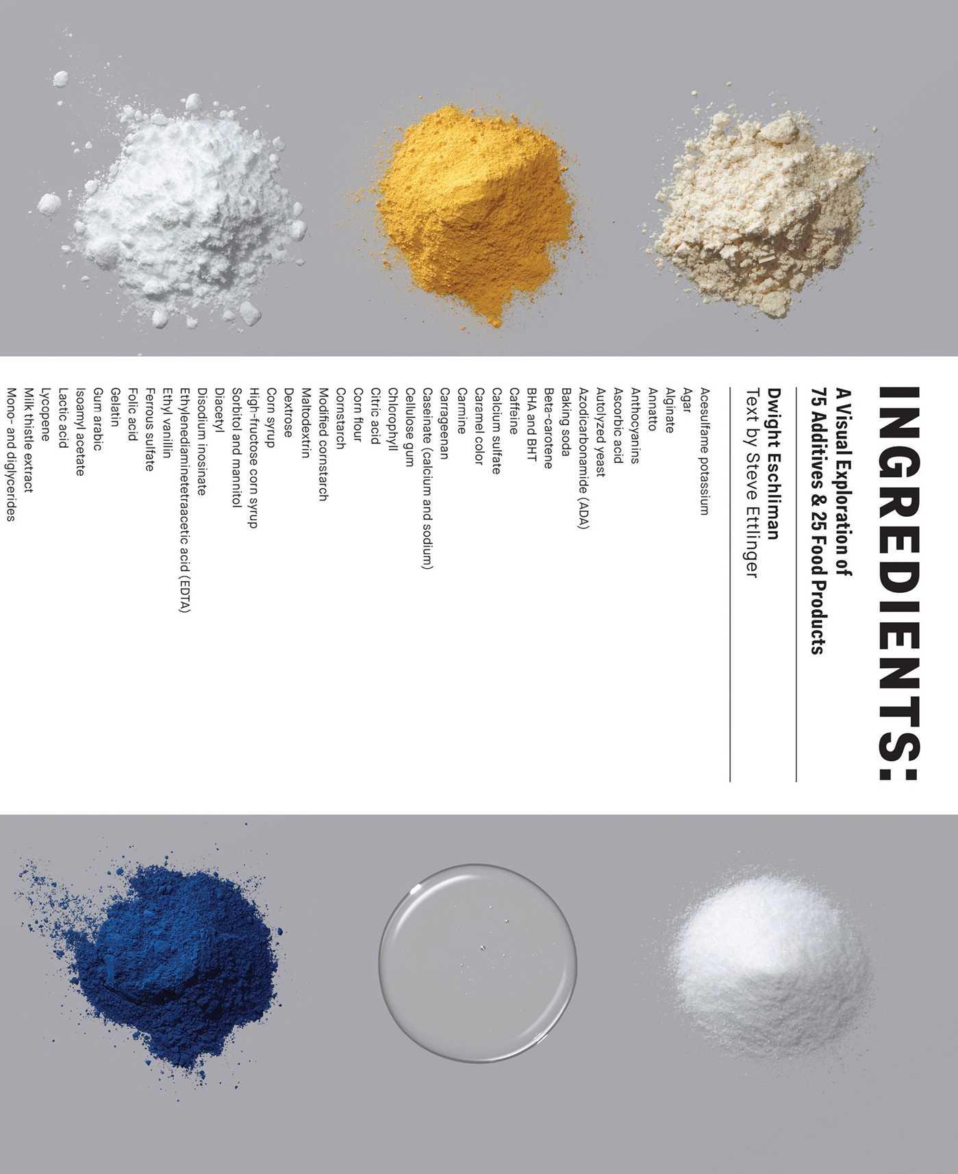 Ingredients 9781941393314 hr