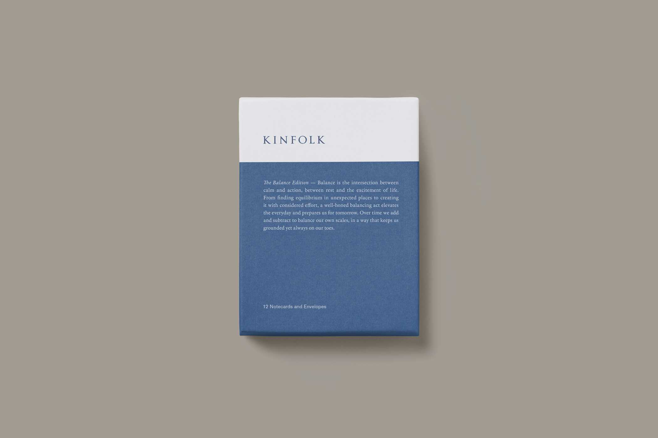 Kinfolk notecards the balance edition 9781941815212 hr