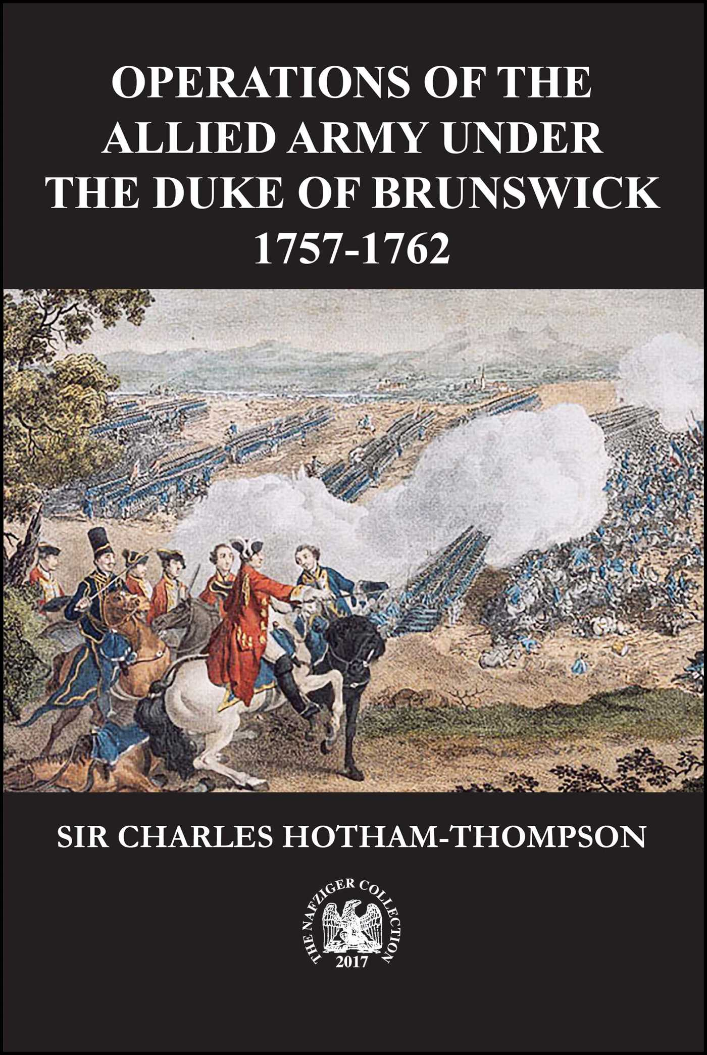 Operations of the Allied Army Under the Duke of Brunswick | Book by
