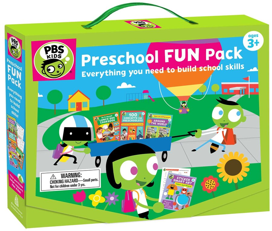 PBS KIDS Preschool Fun Pack | Book by PBS KIDS | Official ...