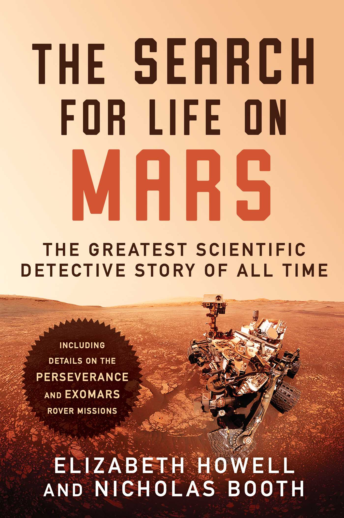 The Search for Life on Mars Book by Elizabeth Howell Nicholas