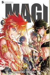 Magi: The Labyrinth of Magic, Vol. 34