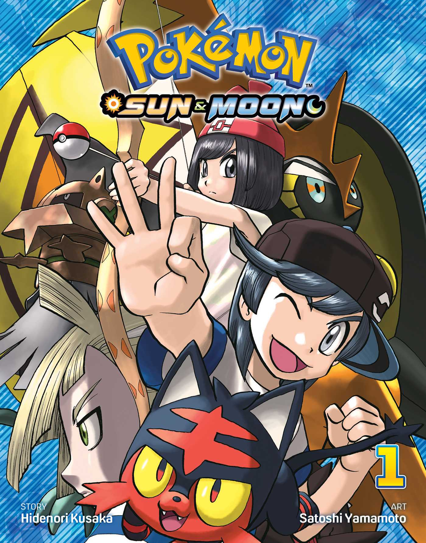Pokemon sun moon vol 1 9781974700752 hr