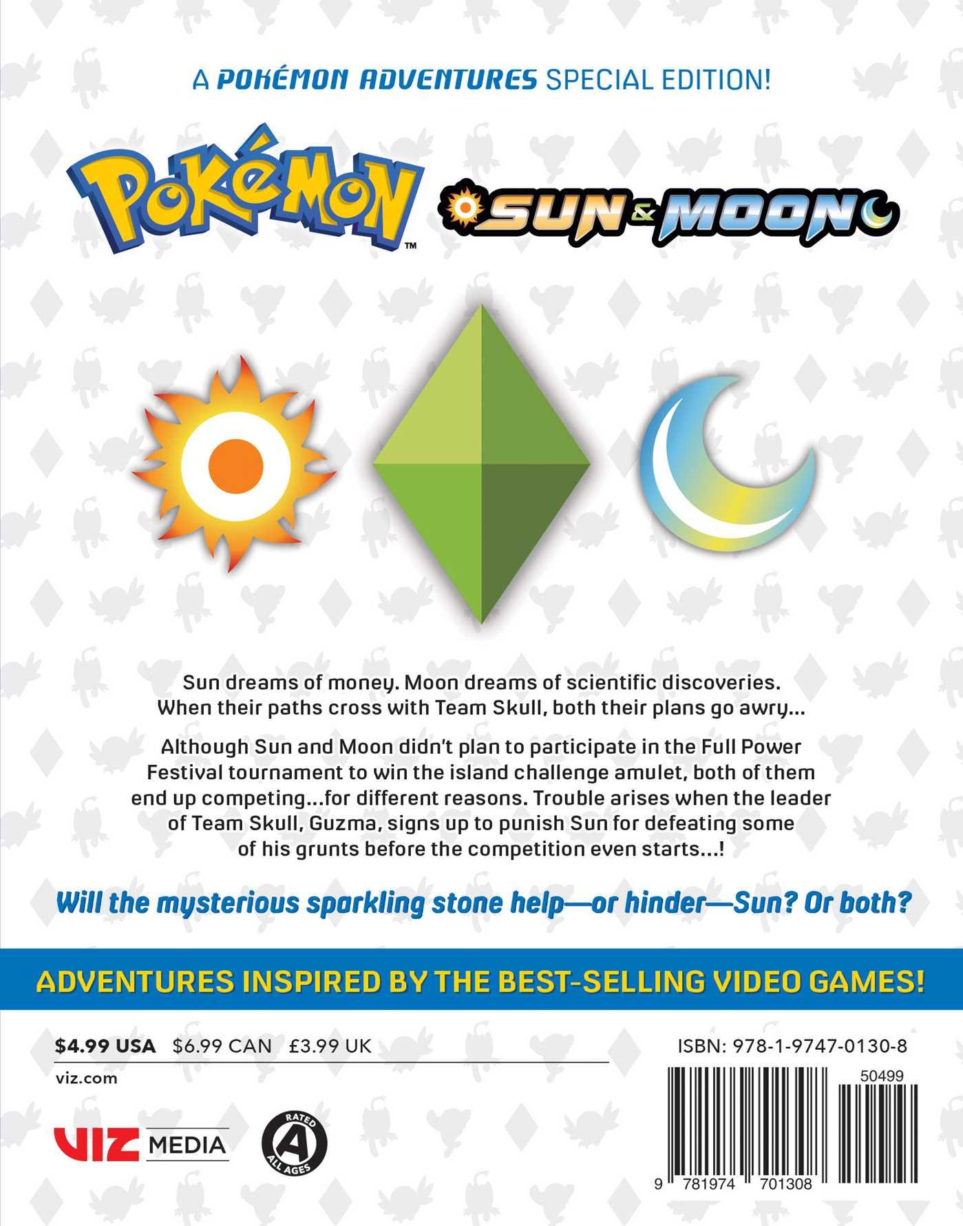 Pokemon sun moon vol 2 9781974701308 hr back