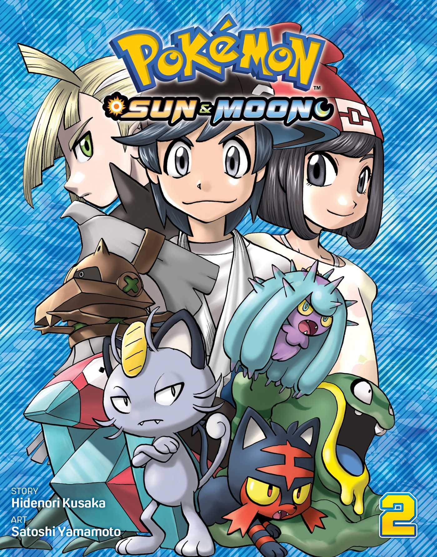 Pokemon sun moon vol 2 9781974701308 hr