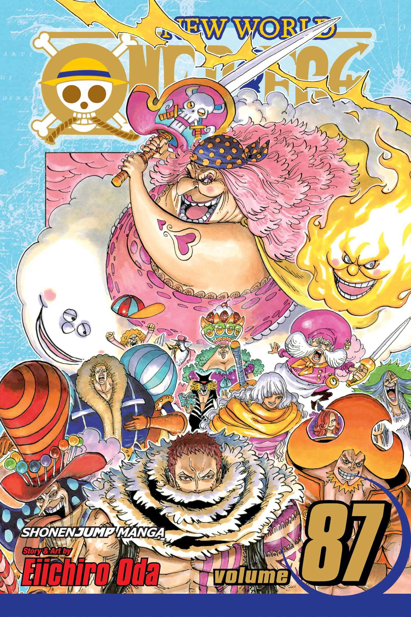One Piece, Vol. 87   Book by Eiichiro Oda   Official Publisher Page   Simon & Schuster UK