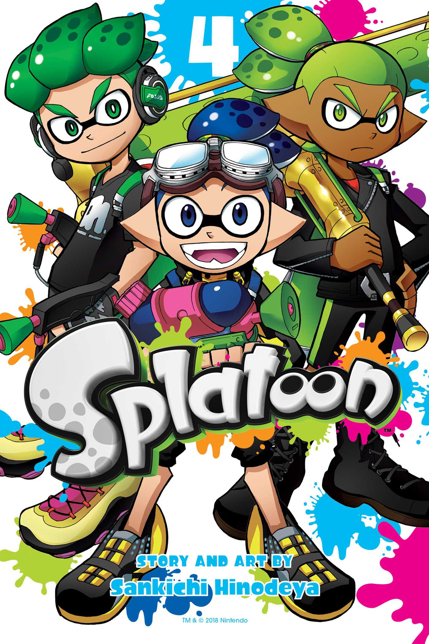 Splatoon vol 4 9781974701865 hr