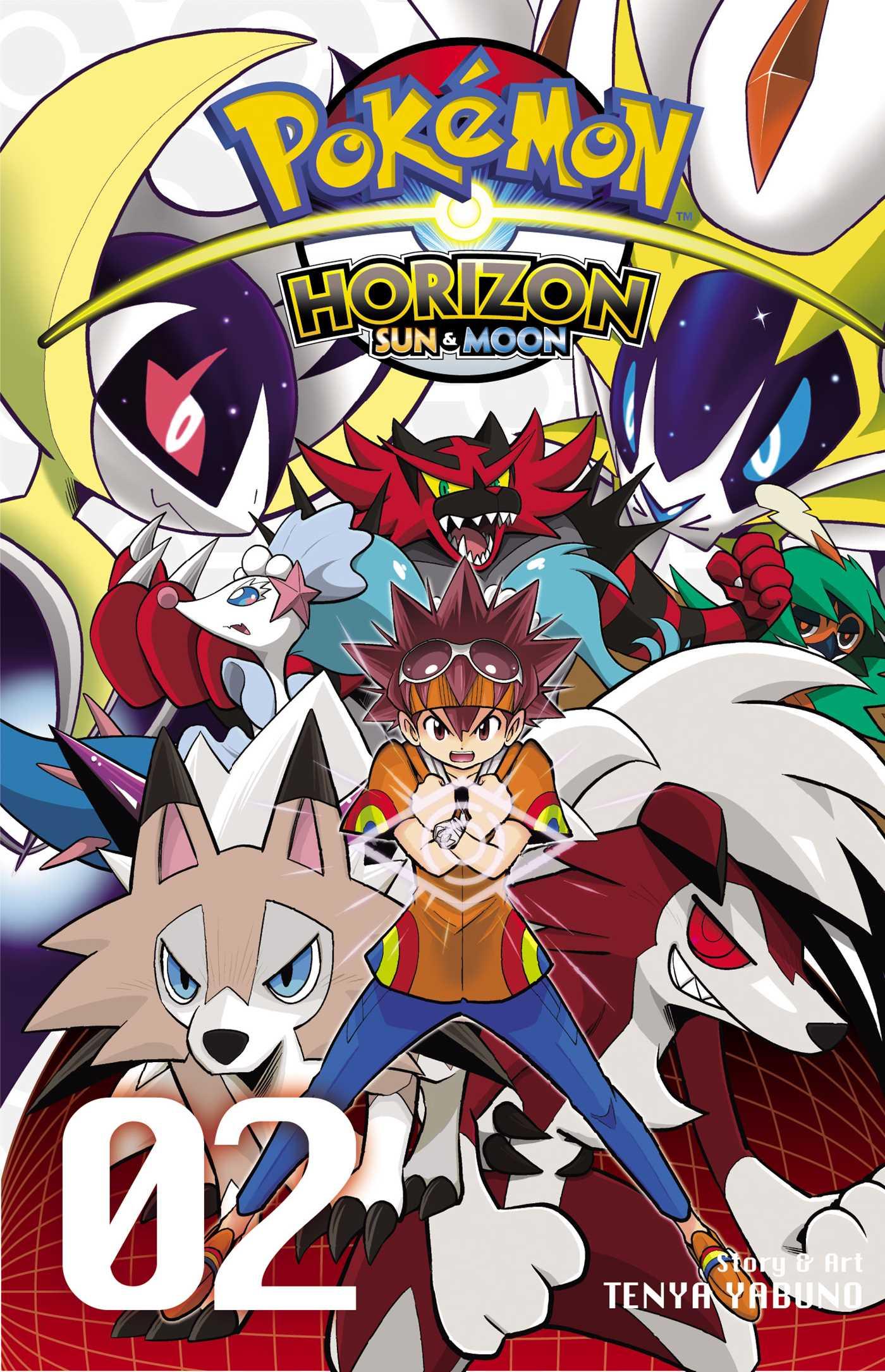 pokémon horizon: sun & moon, vol. 2 | book by tenya yabuno