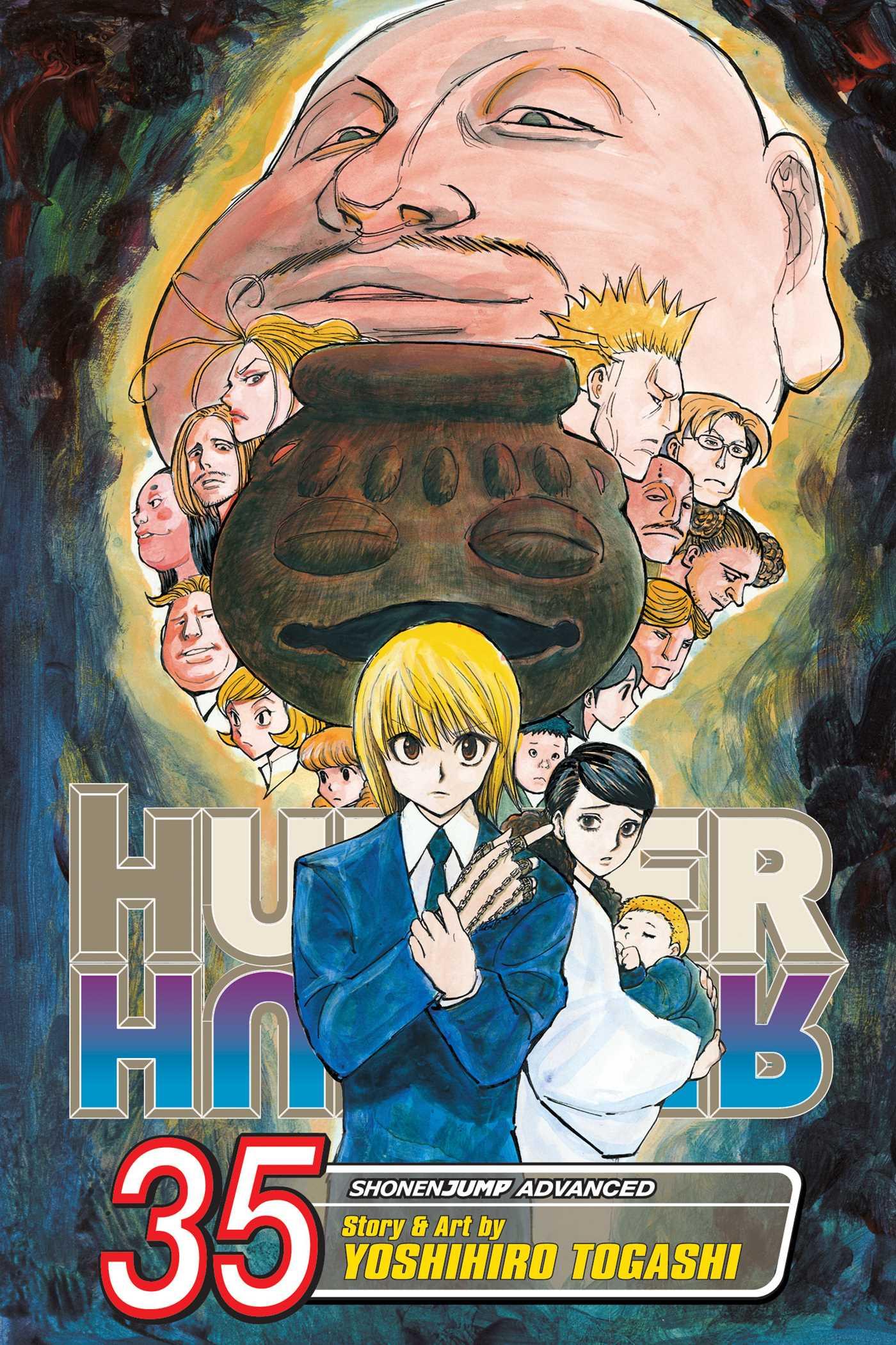 Hunter x Hunter, Vol. 35 | Book by Yoshihiro Togashi | Official ...