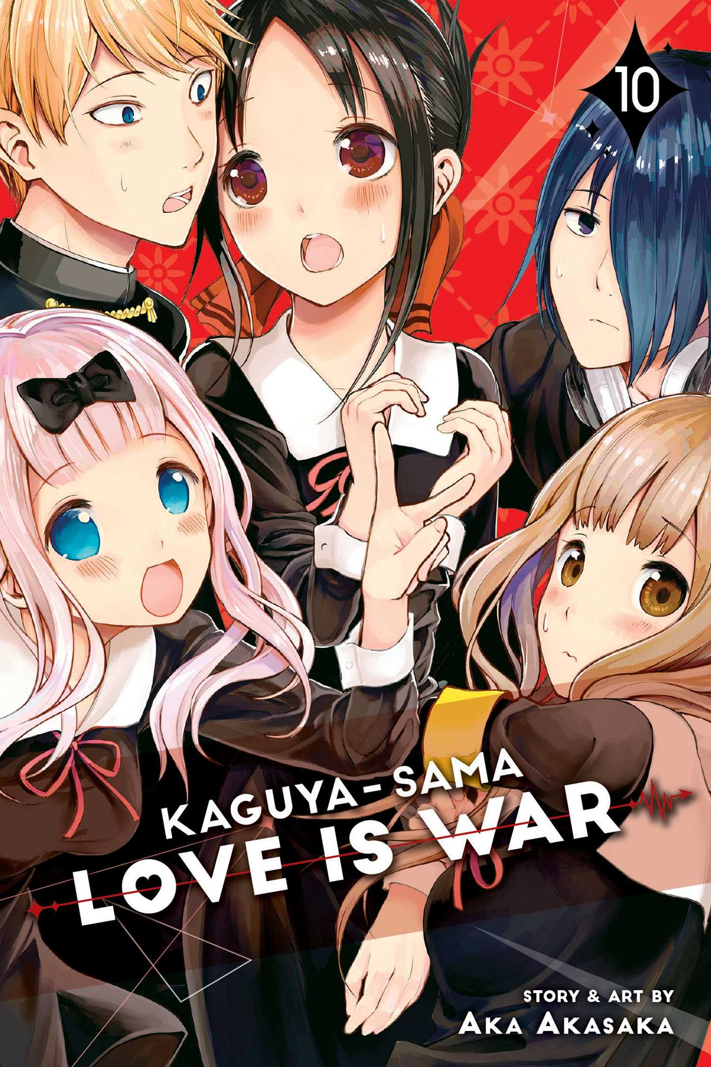 Kaguya Sama Love Is War Vol 10 Book By Aka Akasaka Official