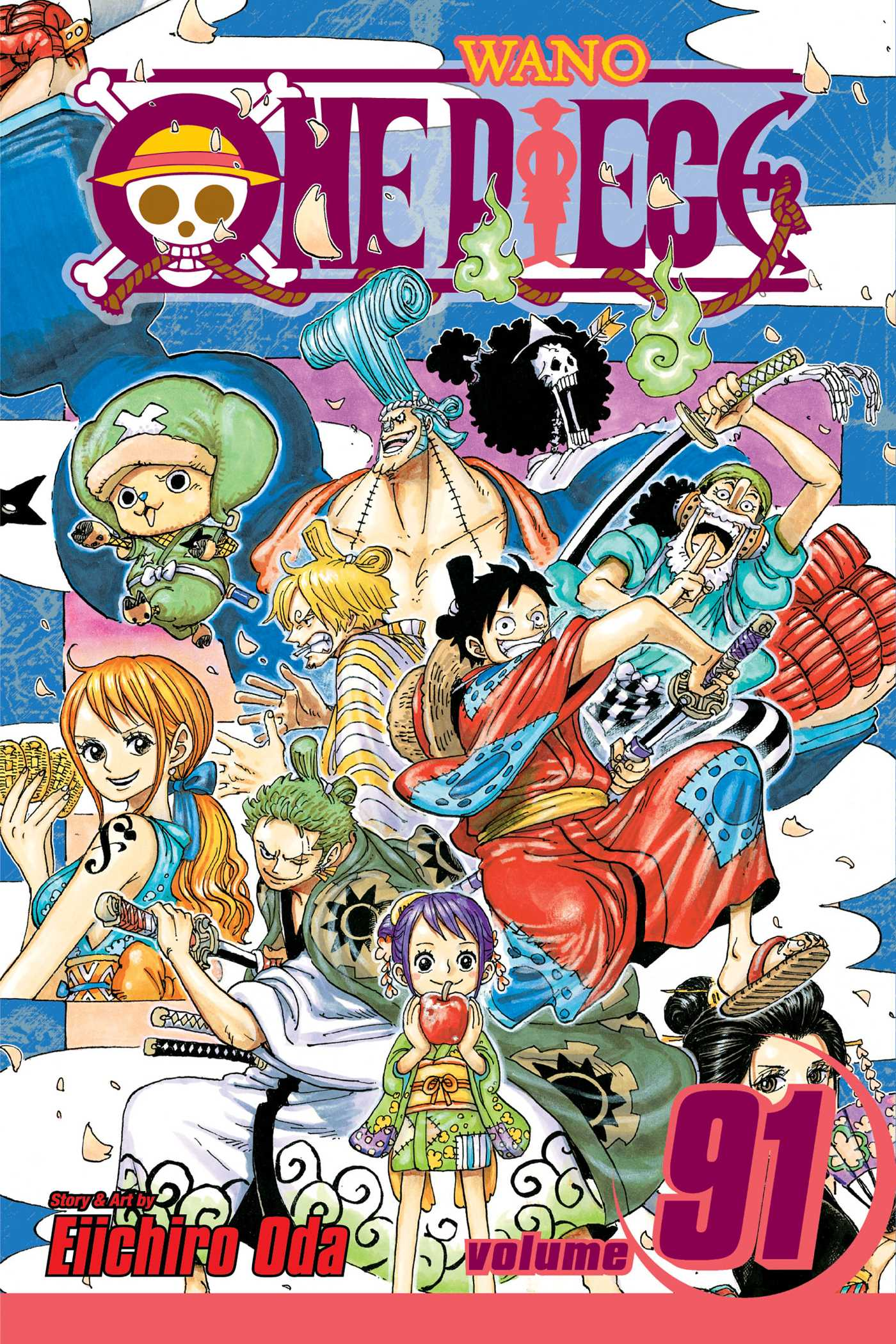 One Piece, Vol. 91   Book by Eiichiro Oda   Official Publisher Page   Simon & Schuster