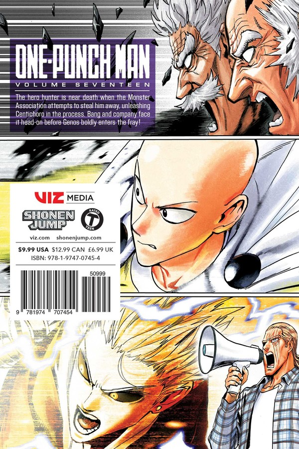 One-Punch Man, Vol  17 | Book by ONE, Yusuke Murata | Official