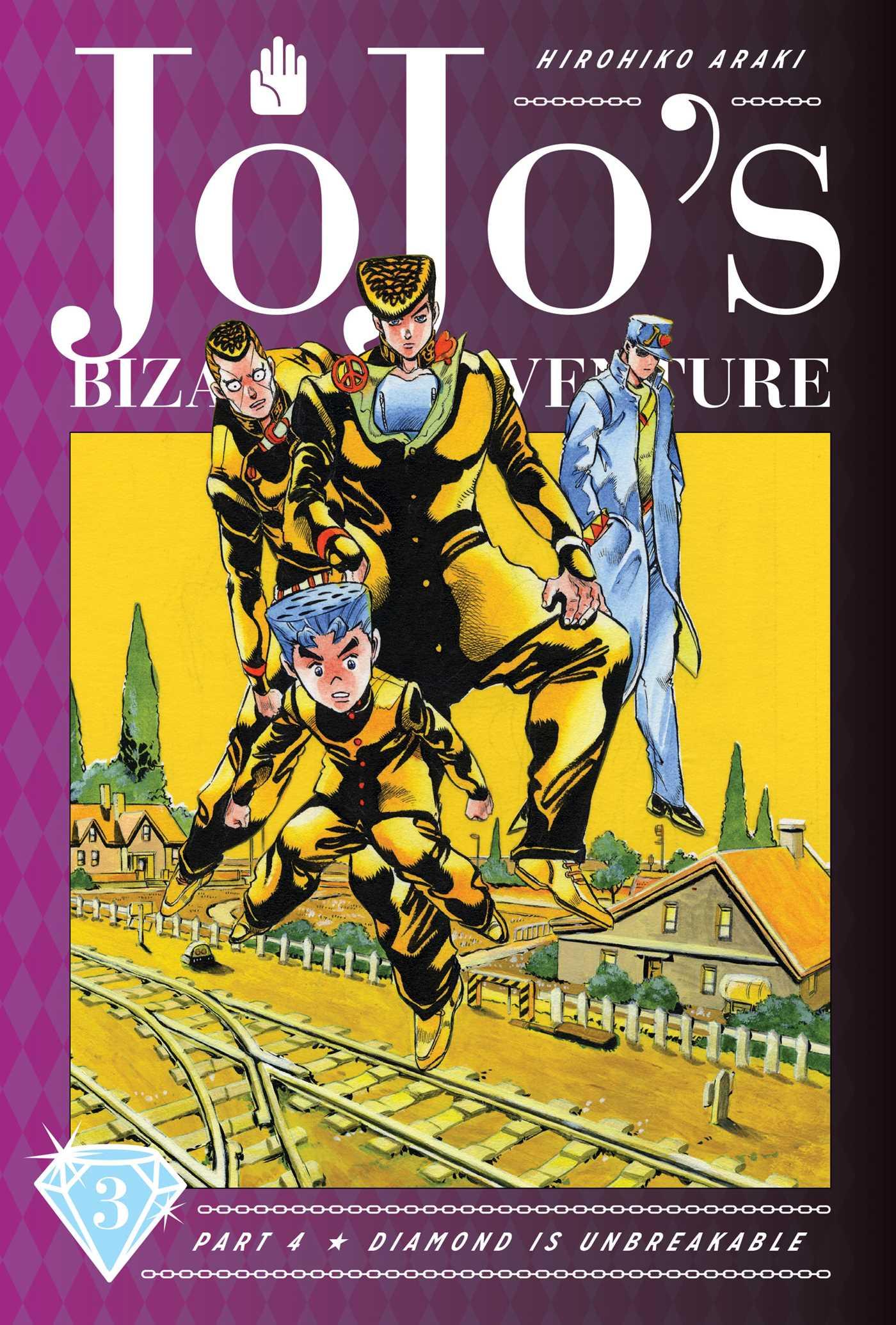 Jojo S Bizarre Adventure Part 4 Diamond Is Unbreakable Vol 3 Book By Hirohiko Araki Official Publisher Page Simon Schuster