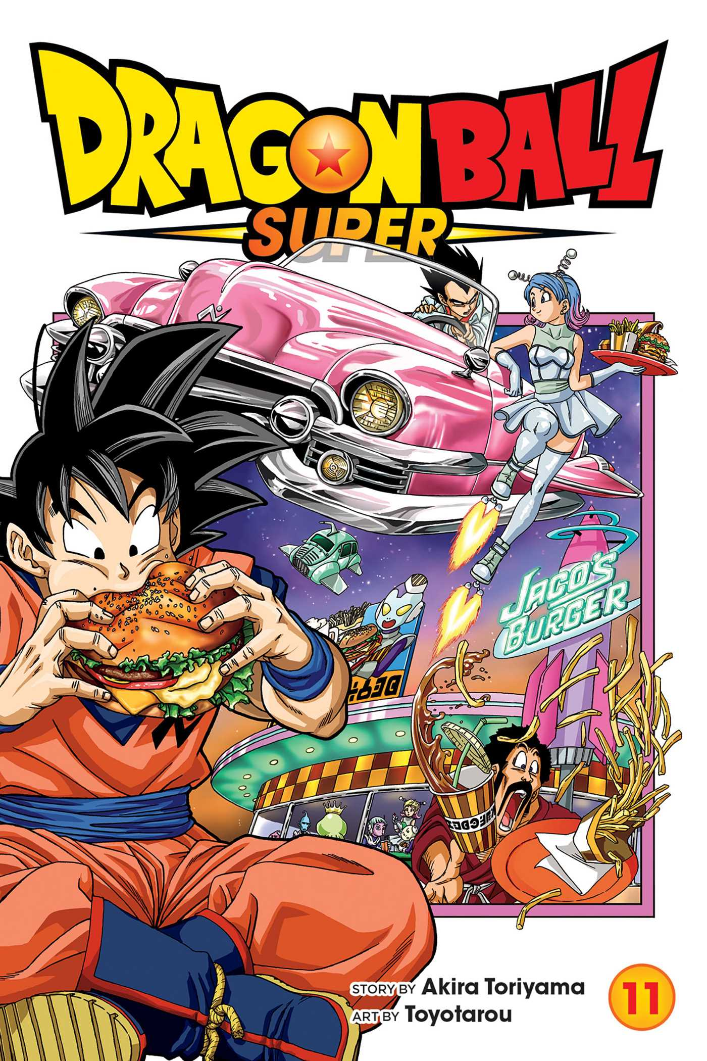 Dragon Ball Super Vol 11 Book By Akira Toriyama Toyotarou Official Publisher Page Simon Schuster
