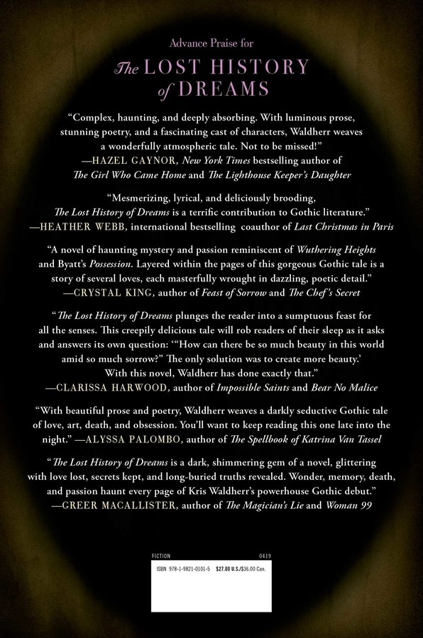 The Lost History of Dreams | Book by Kris Waldherr | Official
