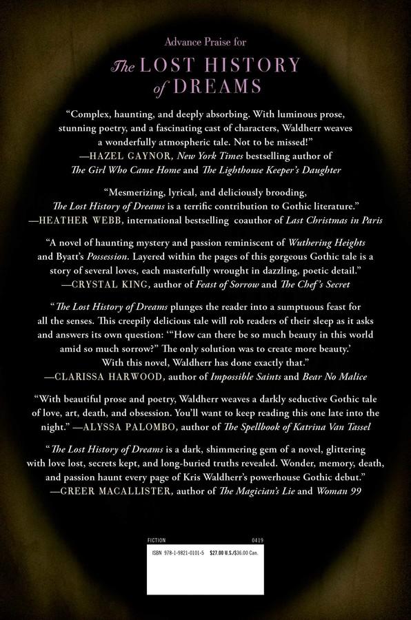 The Lost History of Dreams | Book by Kris Waldherr
