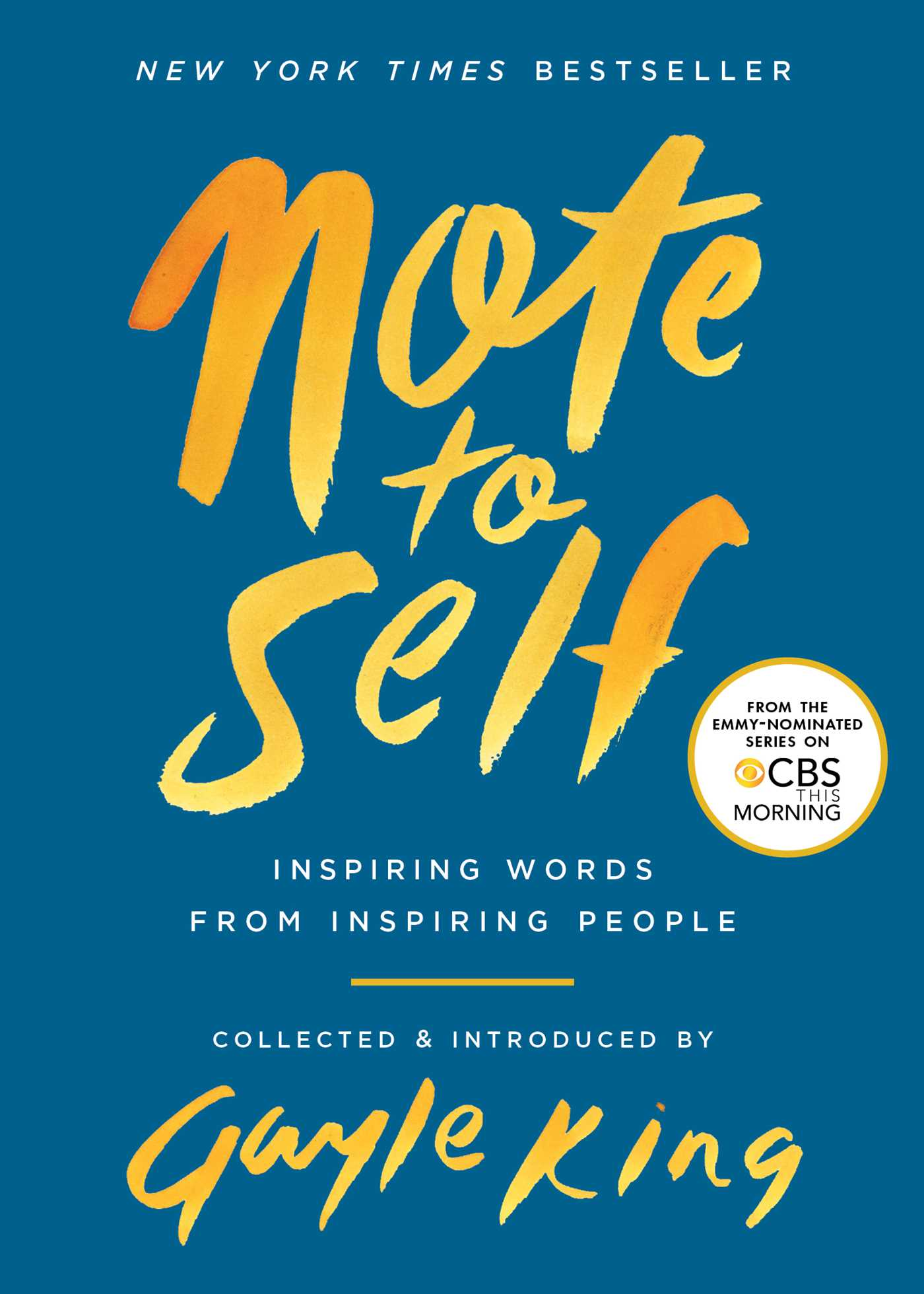 Note to self 9781982102104 hr