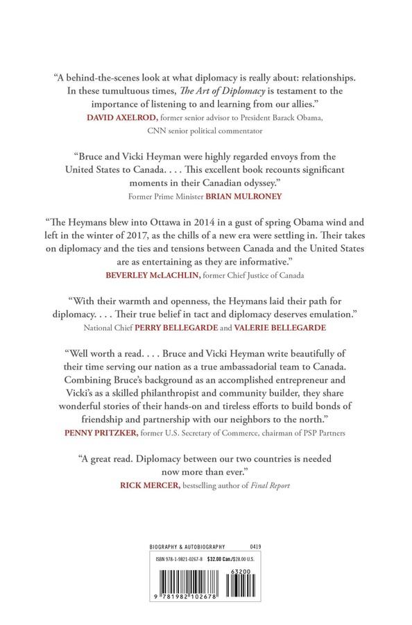 The Art of Diplomacy | Book by Bruce Heyman, Vicki Heyman