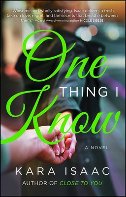 Book review of One Thing I Know by Kara Isaac (Howard Books) by papertapepins