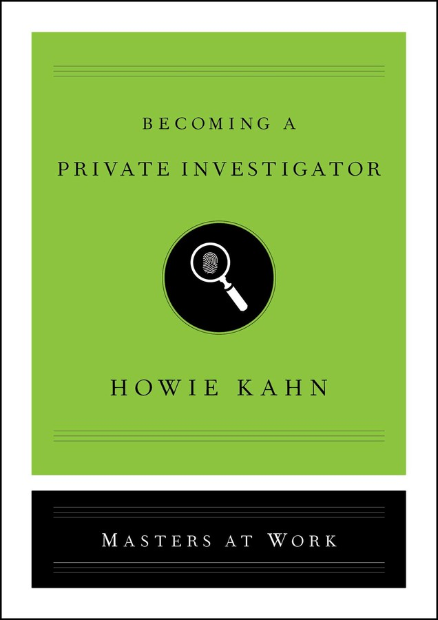 Buy Becoming a Private Investigator