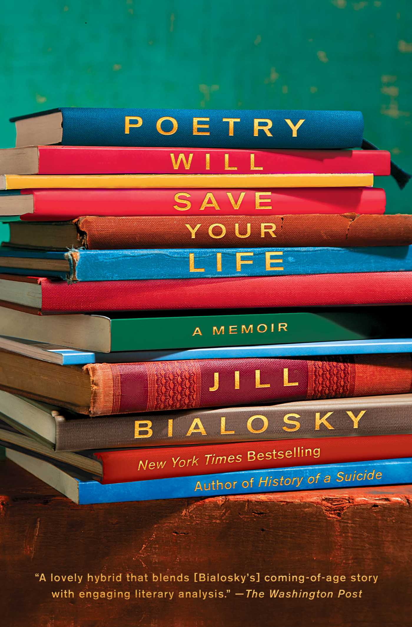 Poetry will save your life 9781982104825 hr