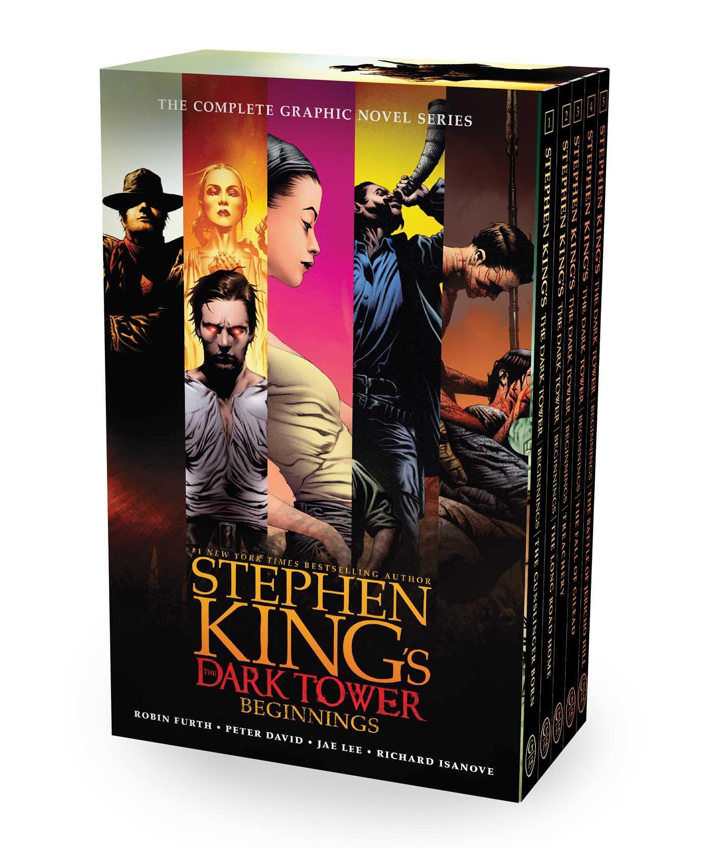 Stephen kings the dark tower beginnings 9781982110208 hr