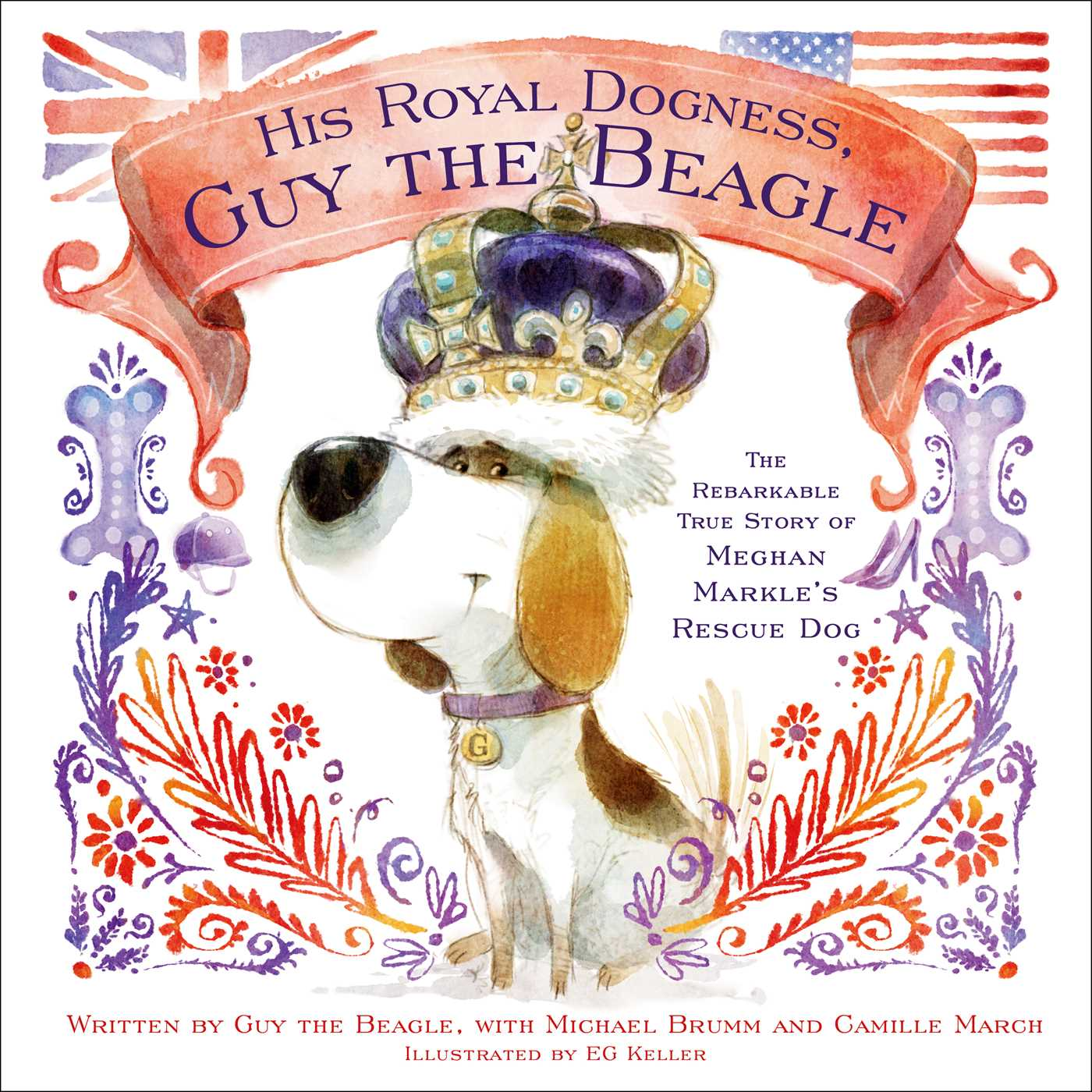 His royal dogness guy the beagle 9781982114633 hr