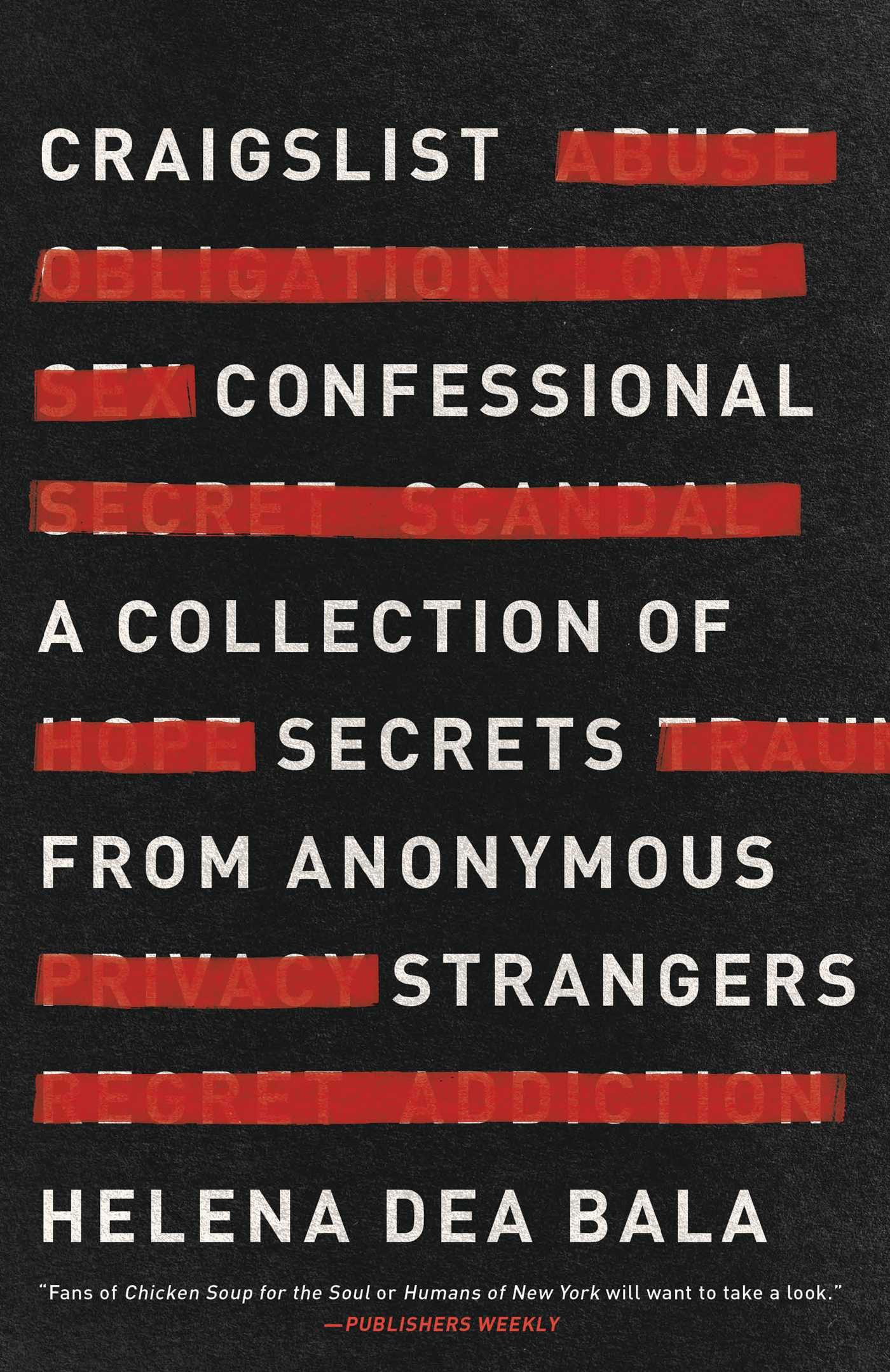 Craigslist Confessional Book By Helena Dea Bala Official Publisher Page Simon Schuster Canada