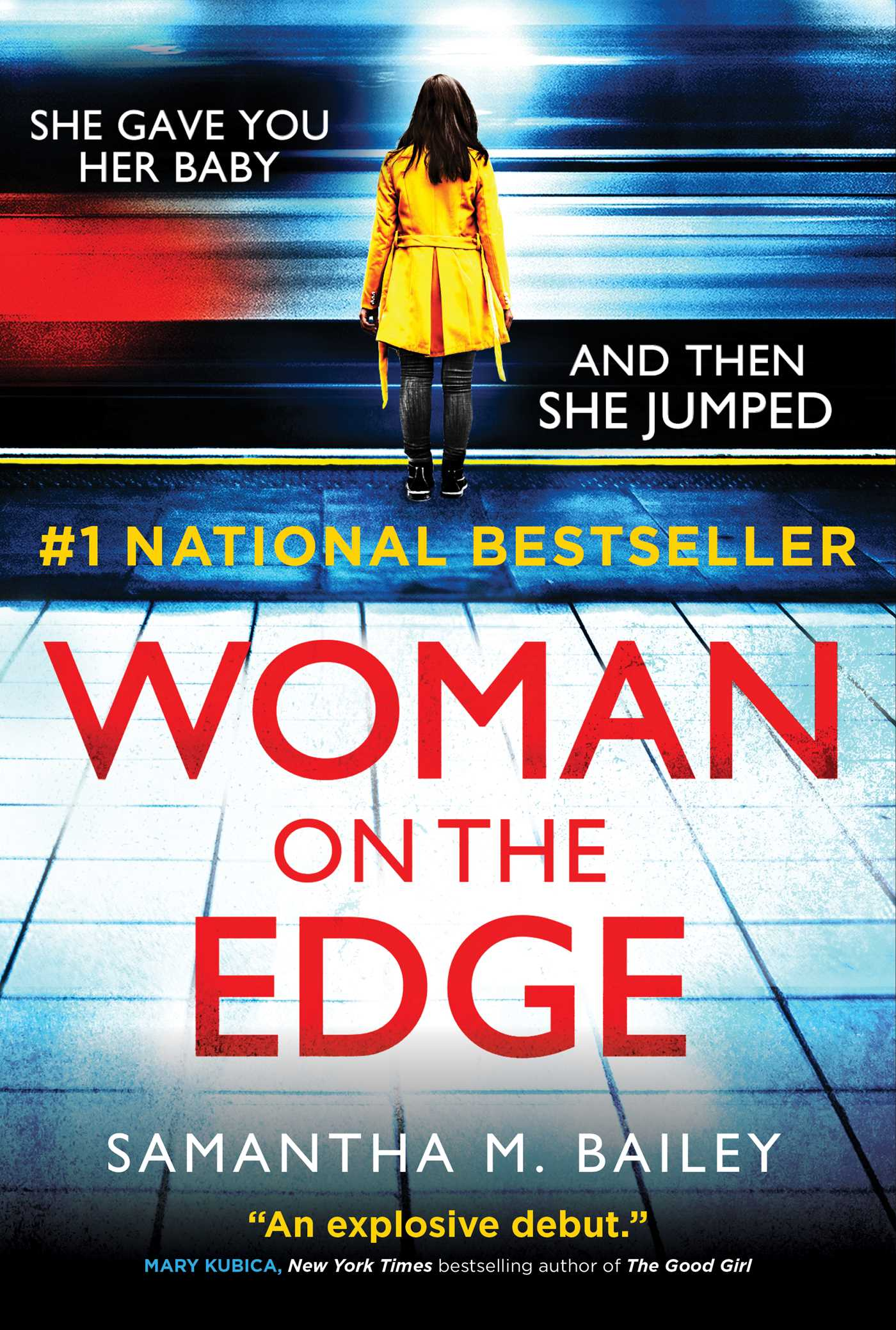 Woman on the Edge | Book by Samantha M. Bailey | Official ...