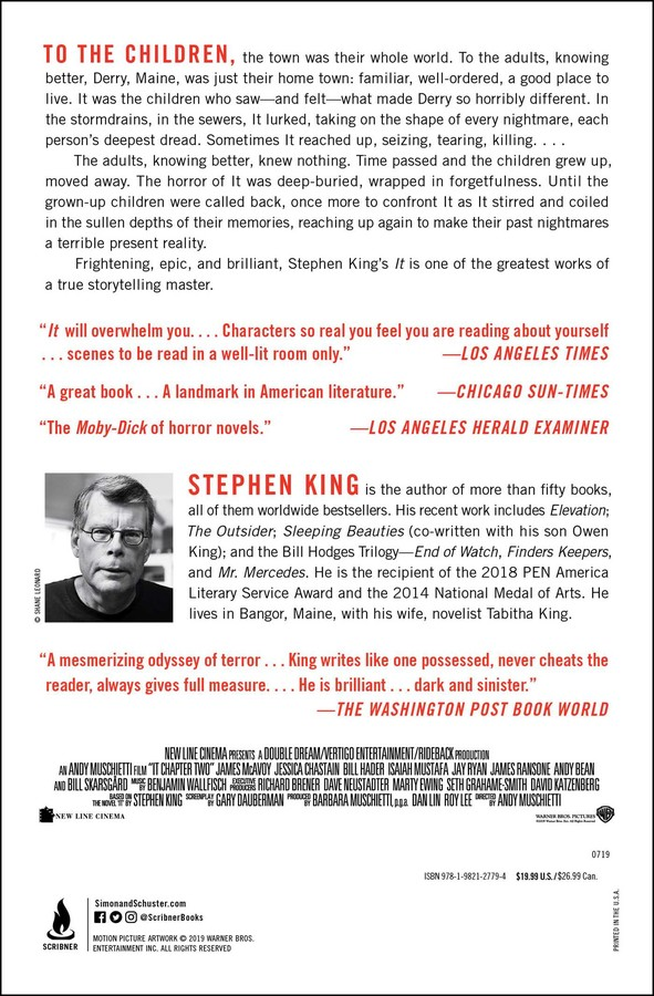 It | Book by Stephen King | Official Publisher Page | Simon